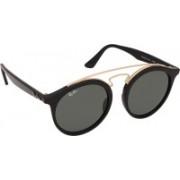 Ray-Ban Round Sunglasses(Black)