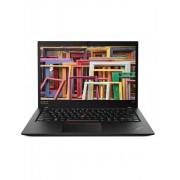 Laptop Lenovo 14'' ThinkPad T490s, FHD IPS, Intel Core i5-8265U, 8GB DDR4, 256GB SSD, GMA UHD 620, Windows 10 Pro, Black