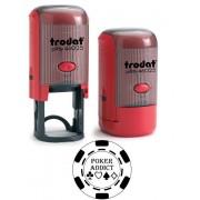 Italy's Cartridge TIMBRO TRODAT 46025 AUTOINCHIOSTRANTE PERSONALIZZATO TRODAT ORIGINAL PRINTY 4.0 46025 25mm QUALITA' PROFESSIONALE ROTONDO