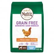 Nutro Grain Free Adult Large Dog с пиле - 2 x 14,5 кг