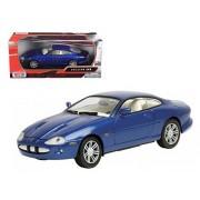 Motormax 73339bl 2002 Jaguar XKR Blue 1-24 Diecast Car Model
