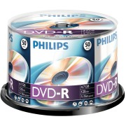 PHI DM4S6B50F/00 - Philips DVD-R 4.7 GB, 16x Speed, Spindle 50