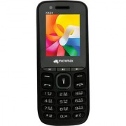 Micromax X424 Feature Phones (Black Grey)