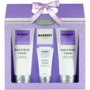 Marbert Bath & Body Classic lote de regalo III gel de ducha y baño 200 ml + crema de manos 50 ml + leche corporal 200 ml