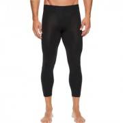 Stylopunk Black Fitness Mens Tight Compression Gym Tight Cycling Tight Yoga Pant Jogging Tights 3/4