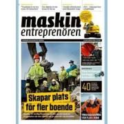 Tidningen Maskinentreprenören 10 nummer