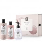 Maria Nila Pure Volume Geschenkset - Shampoo 350 ml + Conditioner 300 ml + Hand