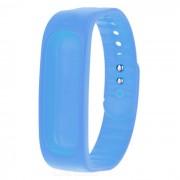 Silicona de repuesto banda de pulsera deportiva - azul