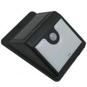 Reflector LED cu panou solar, cu senzor de miscare Strend Pro Solar Panel, 4 leduri, IP44 FMG-W-011427
