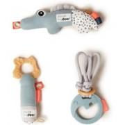 Done by Deer Tiny Activity Toys babyspeelgoed set van 3