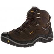 KEEN Men's Durand Mid WP Wide Outdoor Boot Cascade Brown/Gargoyle 10 2E US