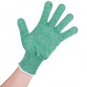Manusa anti-taiere profesionala din fibra Dyneema, calibru 10, Verde