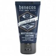 Benecos Férfi arc- és borotválkozás utáni balzsam - 50ml