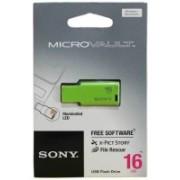 Sony USM16GM-G 16 GB Pen Drive(Green)