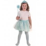Disfraz de Princesa Hielo Azul Set - Creaciones Llopis
