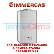 Immergas Scaldabagno Scaldacqua Istantaneo A Gas Immergas Caesar Eco 14 Camera Stagna A Metano 14 Litri Codice Prodotto 3028685