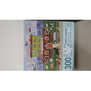 300 pieces Bits and Pieces Large Piece Puzzle, Miss See's By The Sea