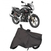 Bigwheels Premium Quality Grey Matty Two Wheeler Bike Body Cover For Hero CBZ