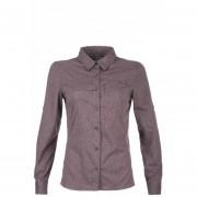 Camisa Rosselot Q-Dry Long Sleeve Melange Morado Lippi