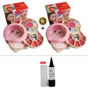 ADS Makeup Kit with 9 Color Eyeshaodw Buy 1 Get 1 Free With Kajal