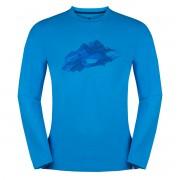 ZAJO | Bormio T-shirt LS M Ibiza Blue Nature