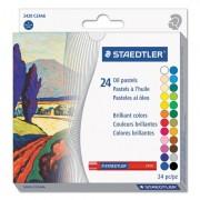 Oil Pastels, 24-Color Set, Assorted, 24/pack