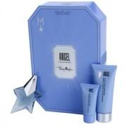 Mugler Angel coffret XXIX. Eau de Parfum 25 ml + leite corporal 100 ml + gel de duche 30 ml + creme corporal 10 ml