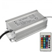 60W RGB LED Controller with Remote Control AC 110-265V Input