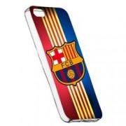 Husa de protectie Football Barcelona Apple iPhone 5 / 5S / SE rez. la uzura Silicon 237