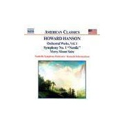 CD - Hanson: Symphony No. 1, Nordic, Merry Mount Suite, Orchestral Works, Vol. 1