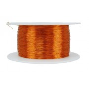 TEMCo 30 AWG Copper Magnet Wire - 8 oz 1566 ft 200°C Magnetic Coil Winding