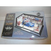 Great Garages 1:43 Scale Model Display Kit Blue Dodge Viper GTS Sport Coupe Die Cast Metal