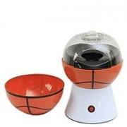 Horoly Plastic Basketball Popcorn Maker for Home Use, 1pc (Orange Color) RJ-1236 0.27 L Popcorn Maker(Orange)