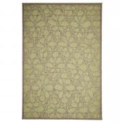 Floorita binnen/buitentapijt Fiore - groen - 135x190 cm - Leen Bakker