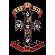 Merkloos Poster Guns N Roses Appetite for Destruction 61 x 91 cm