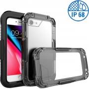 Apple iPhone 8 Waterdichte Zwart Hoesje IP68 Certifering tot 10 meter, Hoesje Waterdicht tot 10 meter iPhone 8, Cover Waterproof iPhone 8, Waterdichte Case iPhone 8