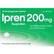 McNeil Ipren 200mg (Läkemedel) 30 tabletter