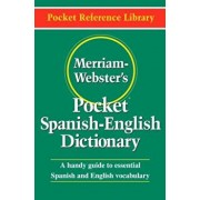 Merriam-Webster's Pocket Spanish-English Dictionary, Paperback/Merriam-Webster