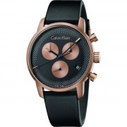 Calvin Klein City Chronograph Montre K2G17TC1 - Noir