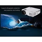 Proyector Projector POWERFUL Q5 1000 Lumens 480 X 320 Pixels HD LCD 1000 : 1 EU PLUG -Blanco