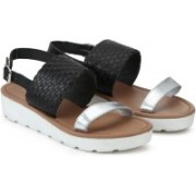 Steve Madden Women BLACK Sandals