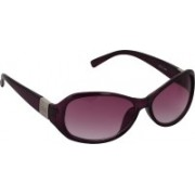 Pede Milan Oval Sunglasses(Pink)