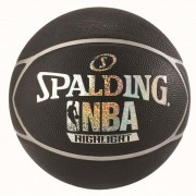 Spalding Basketball NBA HIGHLIGHT (Outdoor) - schwarz/silber | 7
