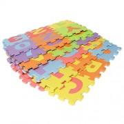 "EVA Educational Toddler Puzzle Play Foam Mat Interlocking Alphabet & Number - 36 interlocking Foam Tiles (6"" by 6"" Each block)"