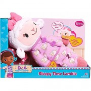 Disney Doc McStuffins - Cuddle Me Lambie Sleepy Time Lambie - Press Lambies Left Hand She Talks and Sings as Her Bow Lights Up. Press Lambies Other Hand and Her Bow will Glow