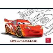 Caiet pentru desen, 17 x 24cm, 16 file, CARS