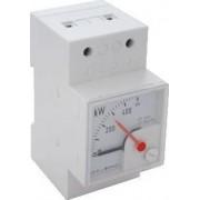 Wattmetru analogic modular, montaj pe şină - 230V/5A W45S-2301 - Tracon