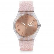 Reloj Swatch Suok703 Pink Glistar - Rosa