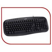 Клавиатура Genius KB-M200 Black USB
