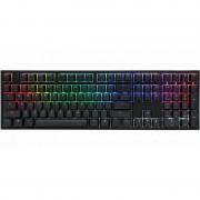 Tastatura gaming DUCKY One 2 RGB Cherry MX Blue Mecanica Black
